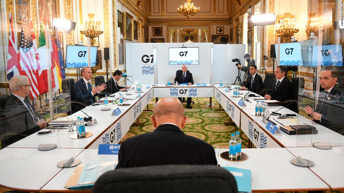 G7 warns China not to 'escalate tensions' with Taiwan amid military threats