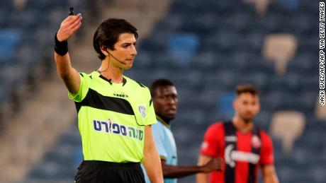 Sapir Berman took charge of the Israeli Premier League match between Hapoel Haifa and Beitar Jerusalem.