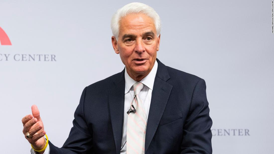 Democratic Rep. Charlie Crist announces another bid for Florida governor