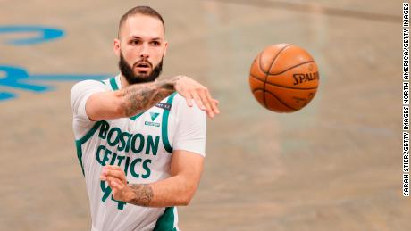 Evan Fournier has spoken about the lingering impact Covid-19 has had on his health.