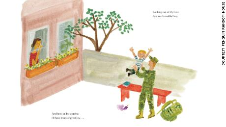 The book is about the bond between father and son as seen through a mother's eyes, a press statement said.