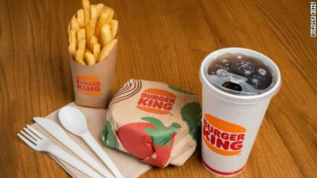 Burger King is testing out new, environmentally friendly packaging.