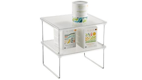 iDesign Stackable Cabinet Shelf