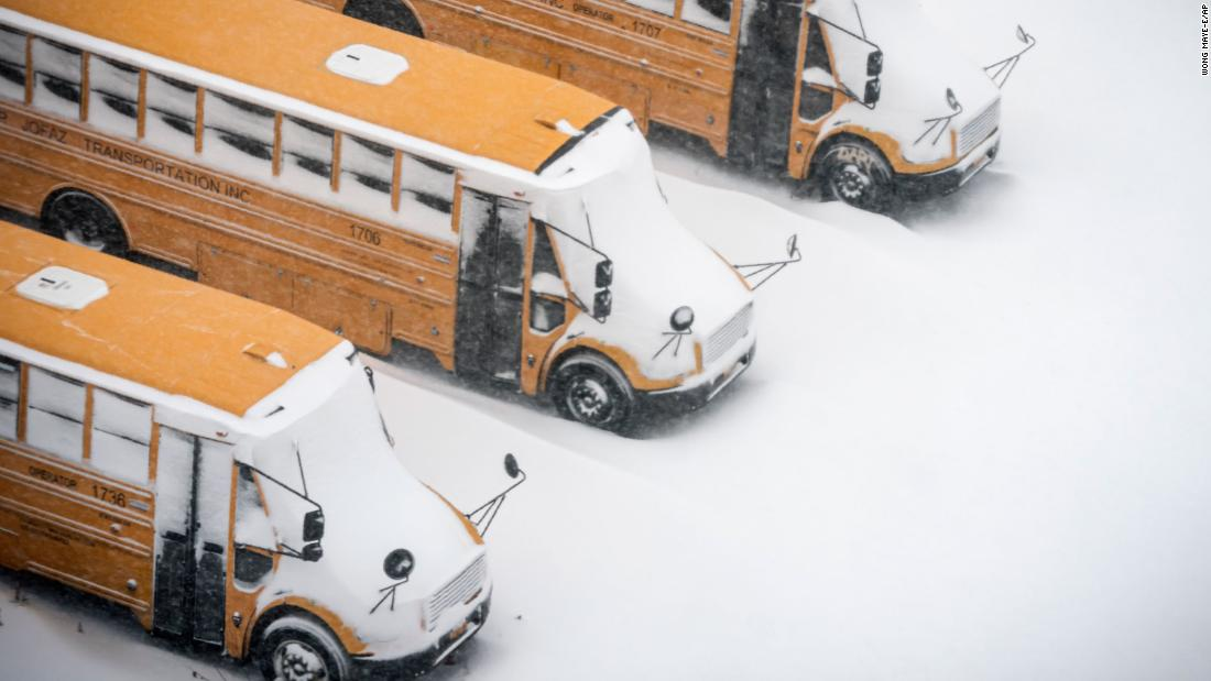 New York City cancels school snow days