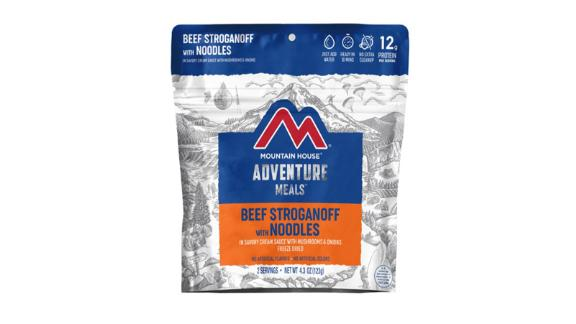 Mountain House Beef Stroganoff — 2 Servings