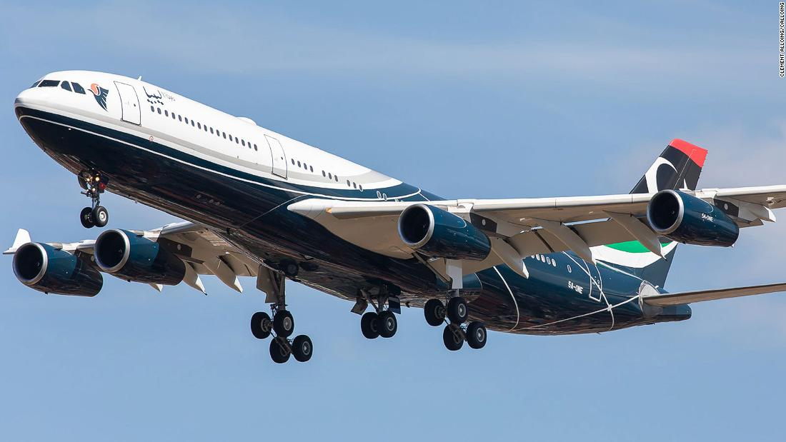 Gadhafi's private jet is back on the move