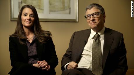 Bill et Melinda Gates à New York en janvier 2015.