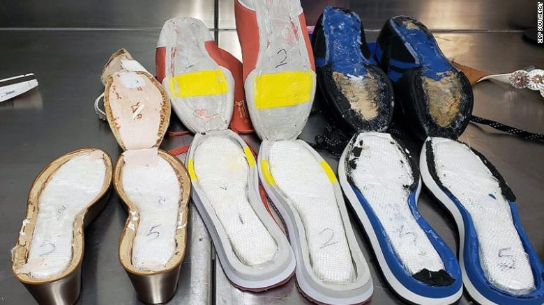Woman arrested at Atlanta airport for smuggling cocaine in shoes