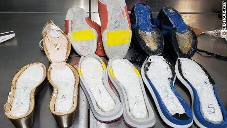 Woman found smuggling cocaine in 7 pairs of shoes at ATL Hartsfield-Jackson airport on Sunday