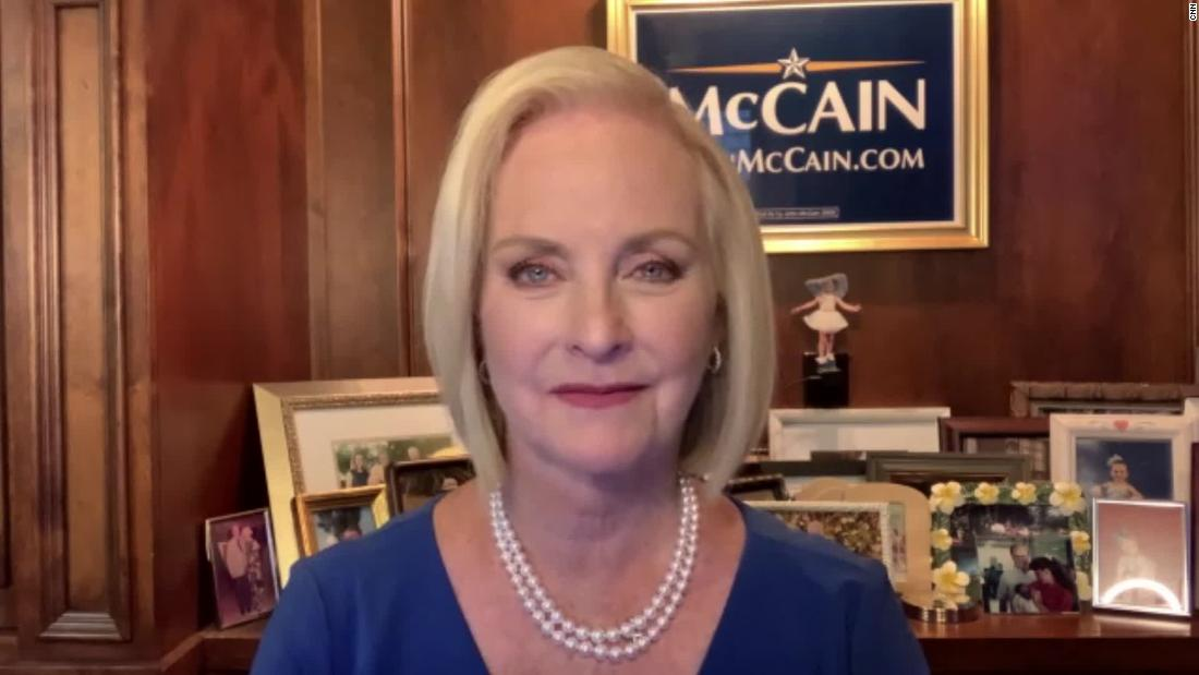'We do need to be careful': Cindy McCain cautions Republicans as GOP considers Liz Cheney replacement – CNN
