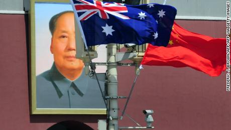 China-Australia relations are in trouble.