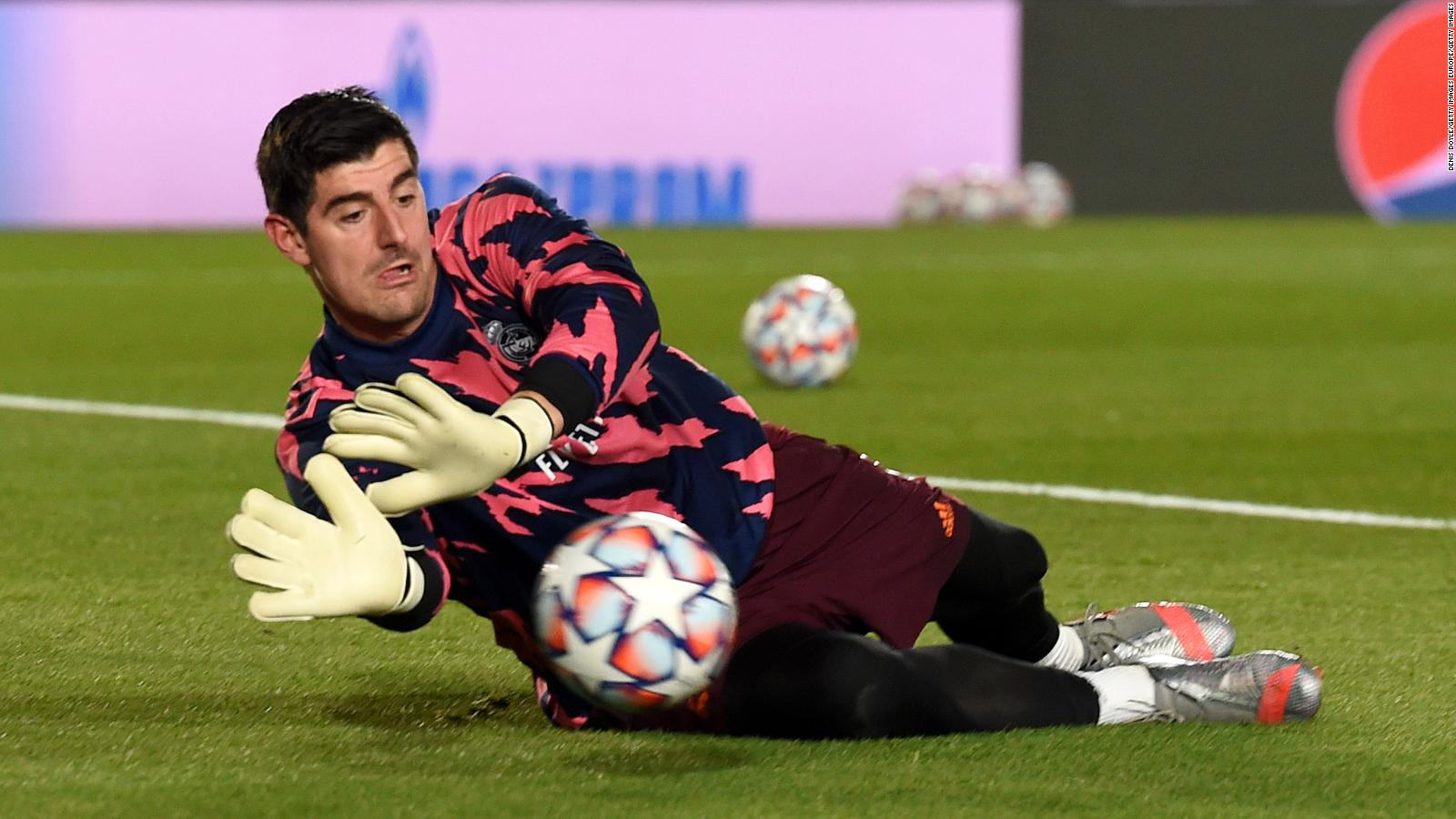 Thibaut Courtois rediscovers his