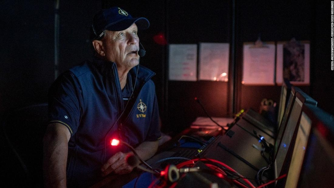 The man who found the Titanic is on a new quest