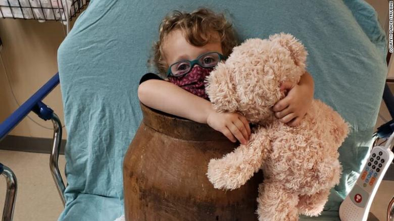 Tennessee 2-year-old who got stuck in a wooden barrel rescued by firefighters