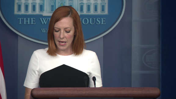 Facebook Trump board Welker Psaki White House response _00005421.png