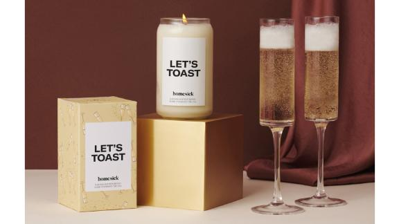 Homesick Let's Toast Candle