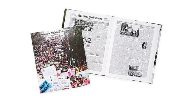 New York Times Women Making History Coffee Table Book
