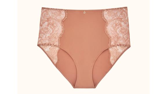 Lace High Brief