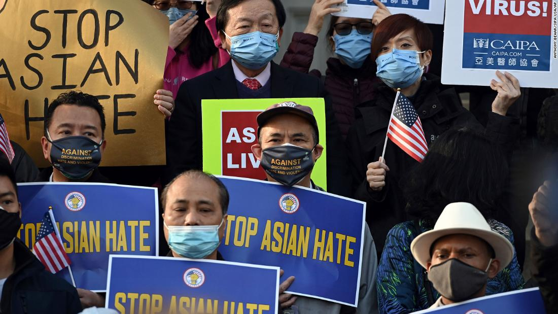 Anti-Asian hate crimes surged in early 2021, study says - CNN