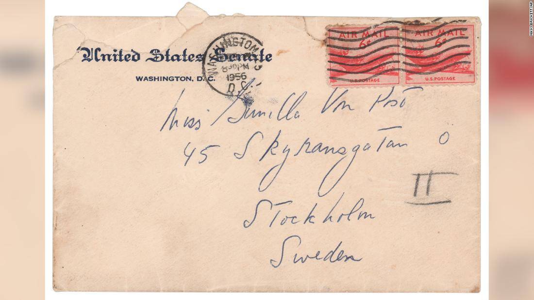 'You are wonderful': JFK love letters to Swedish mistress up for sale