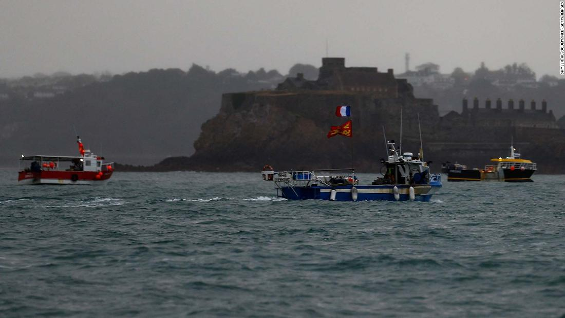 UK sends patrol ships to British island amid row with France over fishing rights