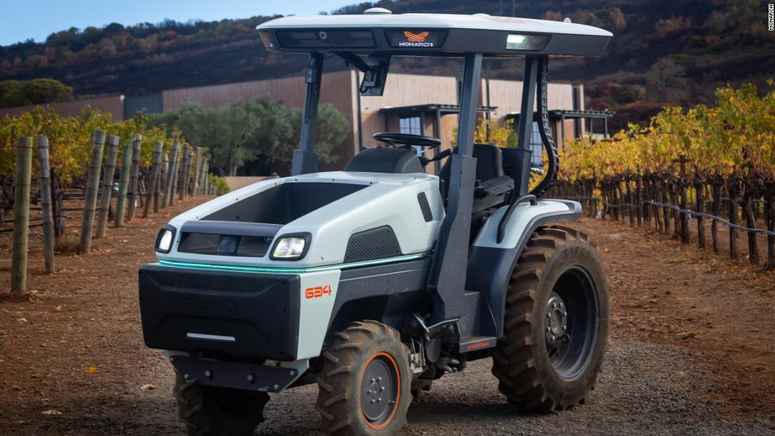 These electric self-driving tractors could make farming much greener