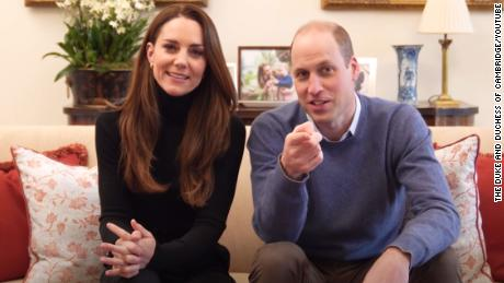 William and Kate's teaser for their new YouTube channel