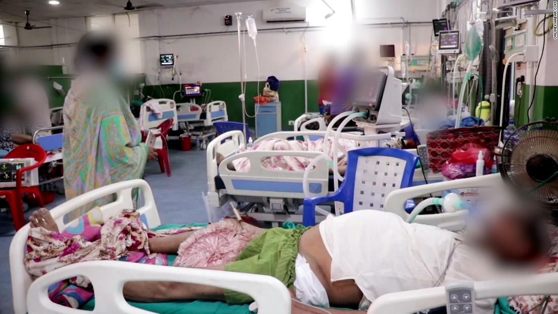 Video shows inside hospital in Nepal as cases rise