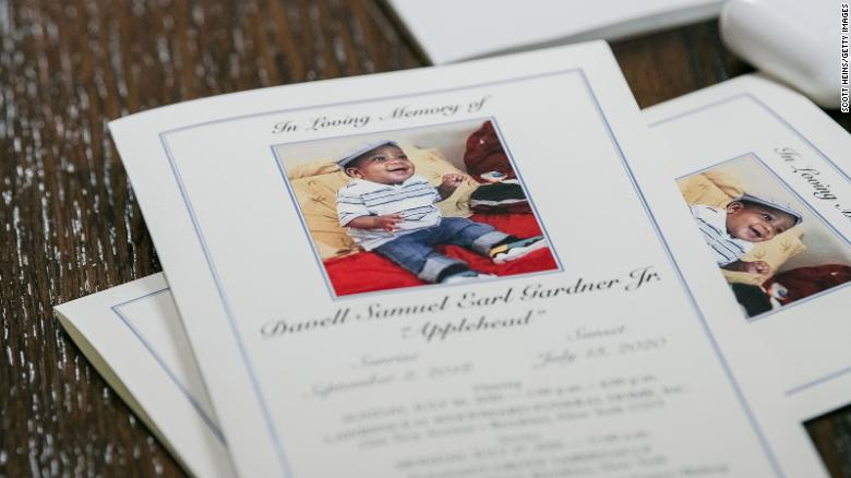 2 men charged in connection with the fatal shooting of a 1-year-old boy in New York