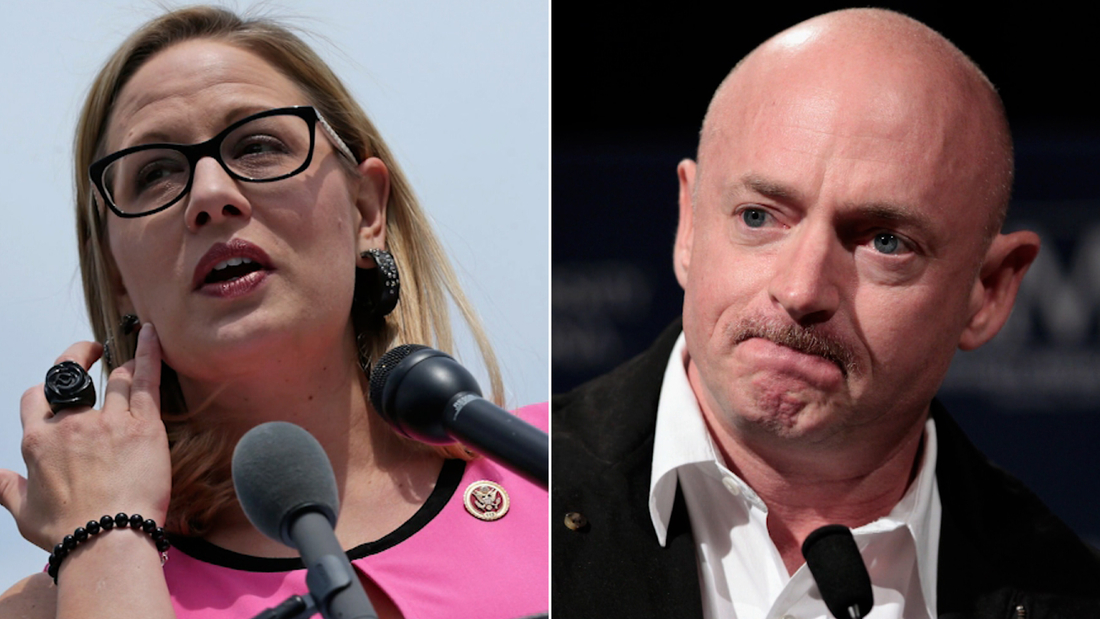 Ktyrsten Sinema/Mark kelly split