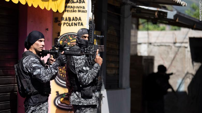 25 killed in Rio de Janeiro drug raid