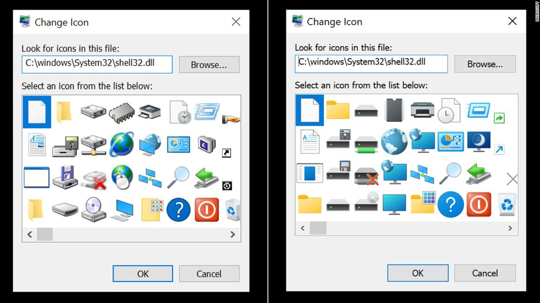 Microsoft is finally updating its 26-year-old icons from Windows 95