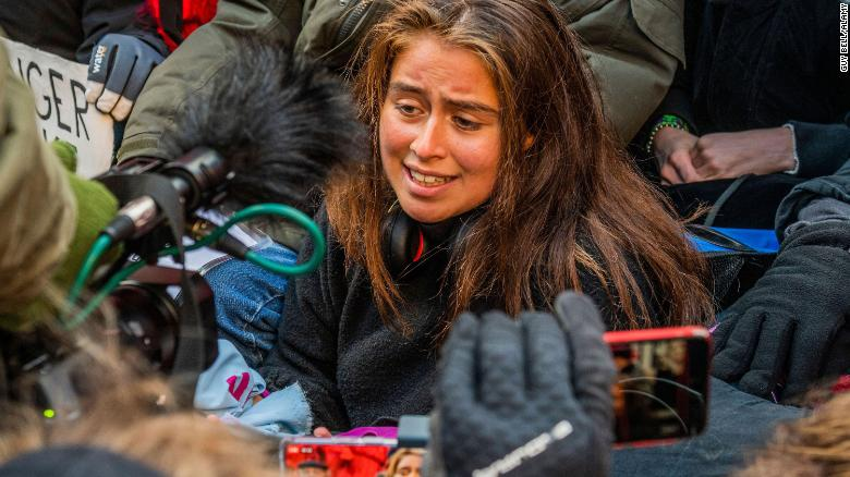 Marina Tricks is one of the three British students suing the UK government over its climate actions.