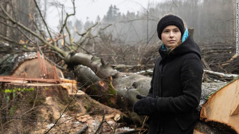 Luisa Neubauer took the German government to court over its climate change law -- and she won.