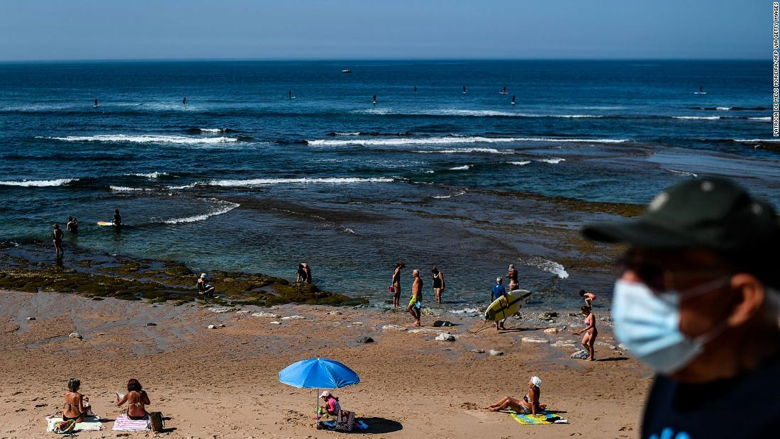 England 'green list' of approved travel destinations revealed