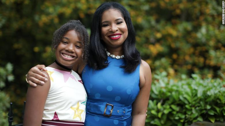 The wife of Martin Luther King III has tough conversations about racism with their daughter, an emerging young activist