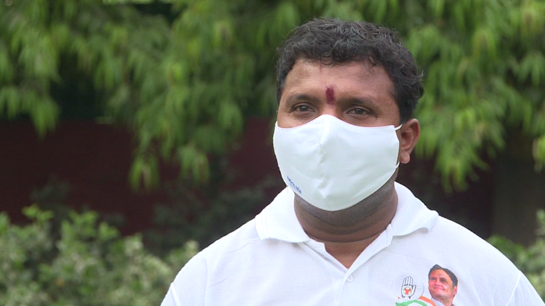 Meet the man fighting to find oxygen for Delhi's Covid patients