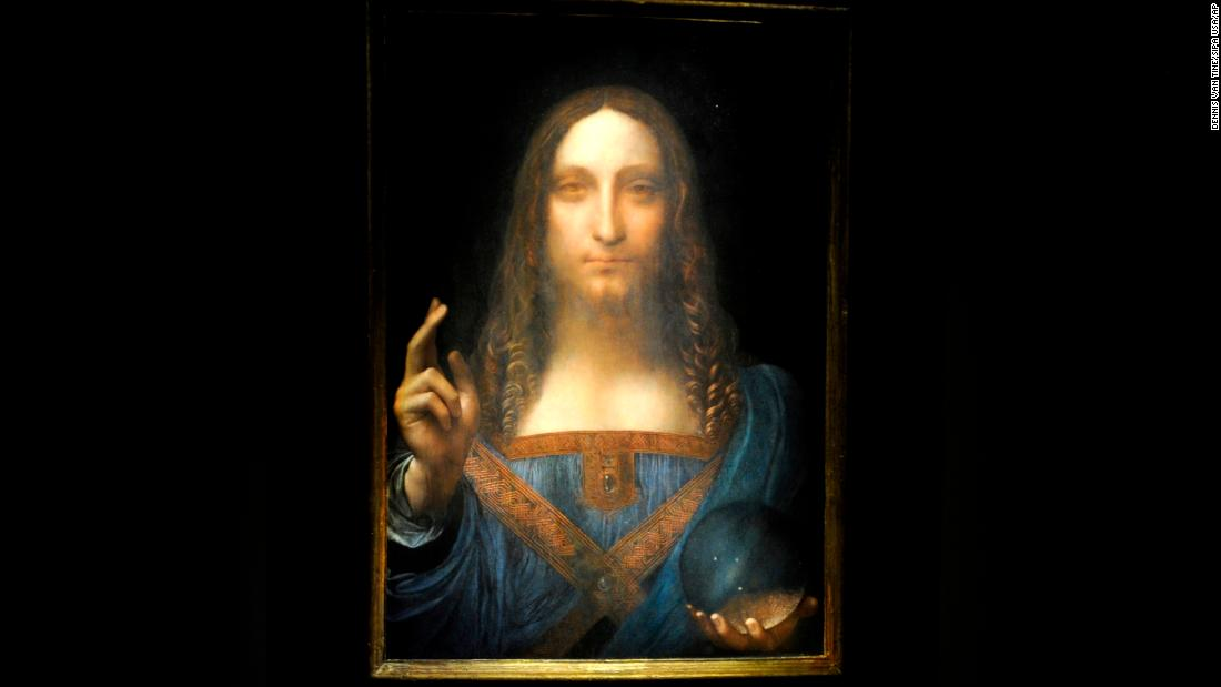 The world's most expensive painting is stirring up a scandal