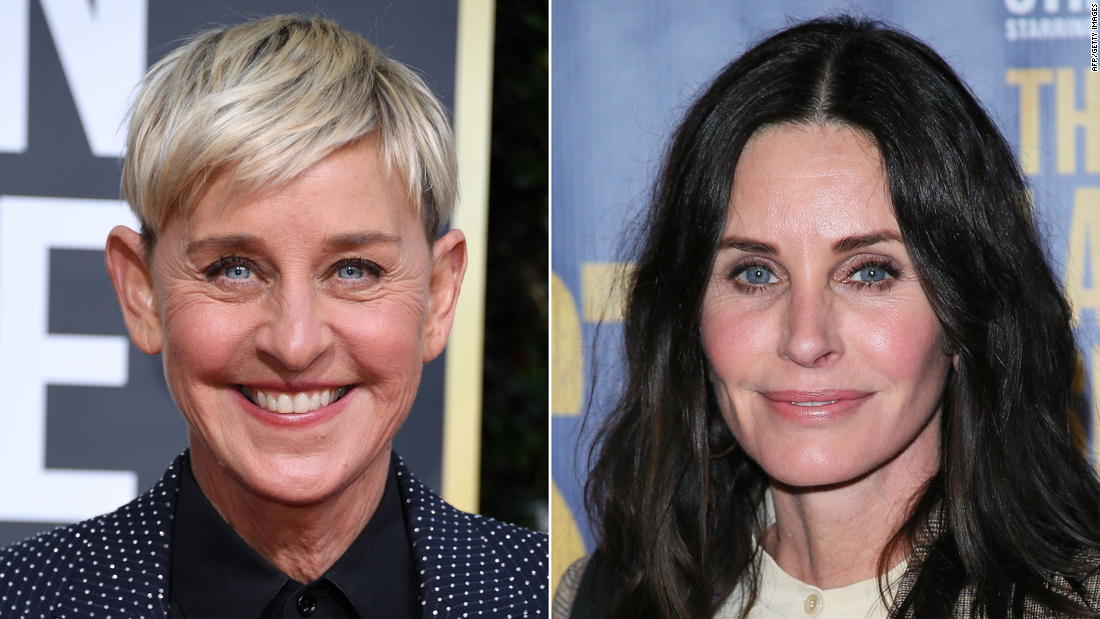 Why Ellen DeGeneres is living at Courteney Cox's house - CNN