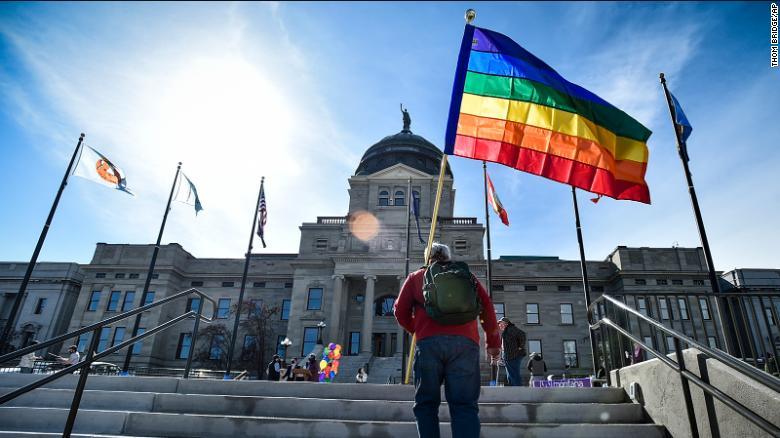 Montana governor signs bill banning transgender girls from girls' sports in schools