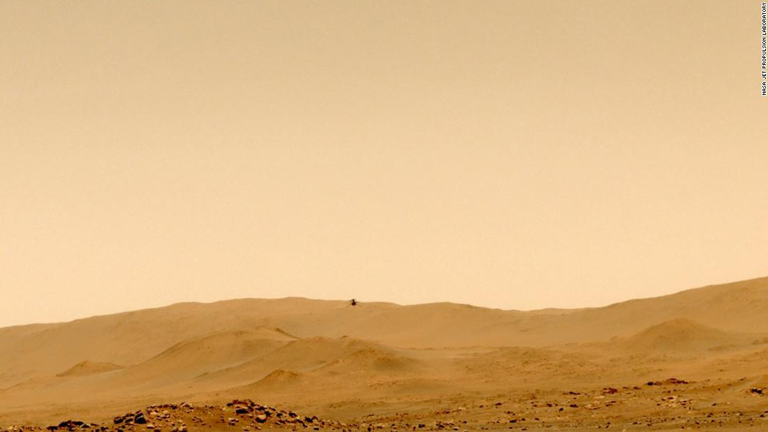 Mars helicopter successfully flies to a new destination