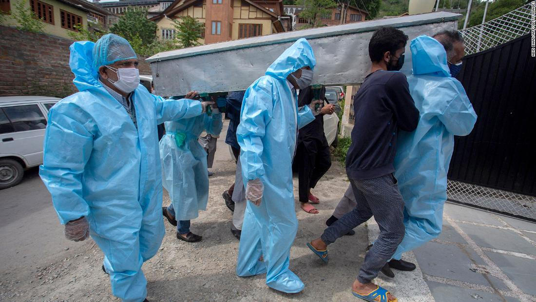 More people are dying from Covid in India than at any stage of the pandemic