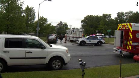 3 dead, suspect killed after shooting and fire in Baltimore County