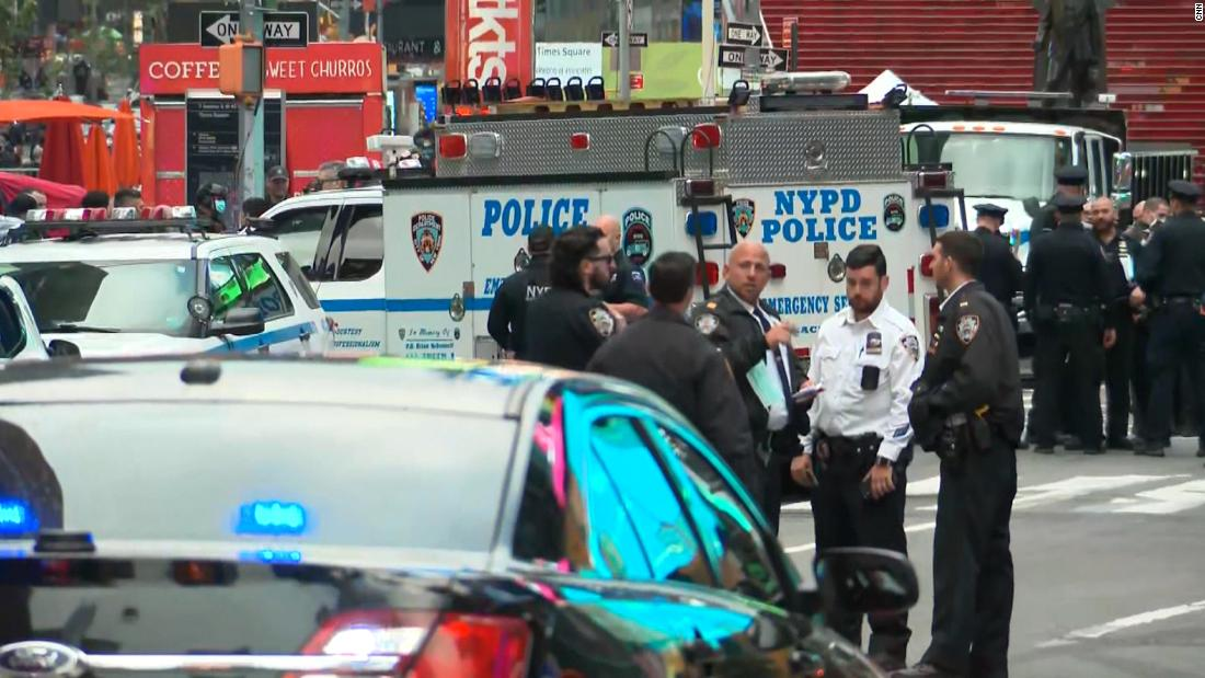 NYPD: Two women and a 4-year-old girl wounded in Times Square shooting