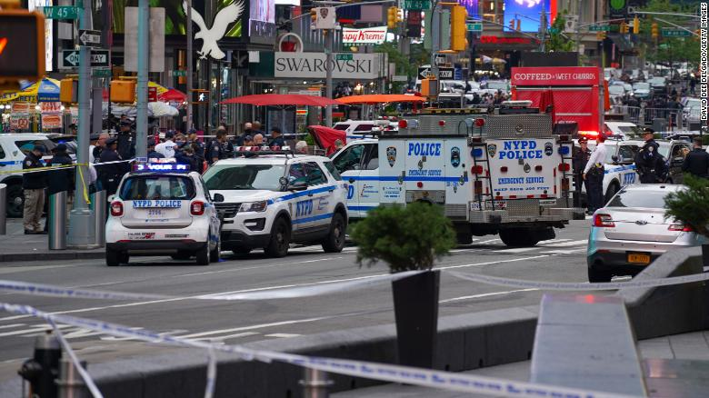 Suspected Times Square shooter extradited from Florida, charged with attempted murder