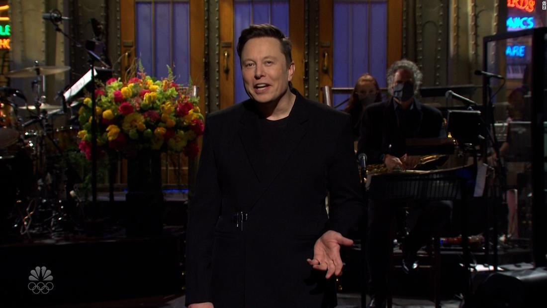 Watch: Elon Musk's 'SNL' monologue