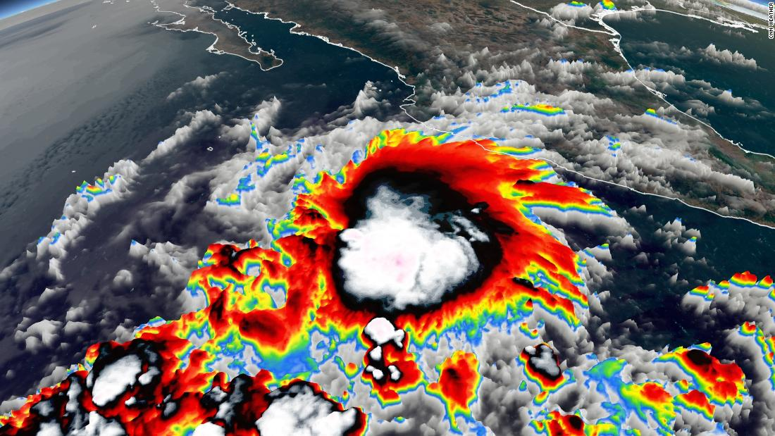 Earliest tropical storm on record develops in the eastern Pacific