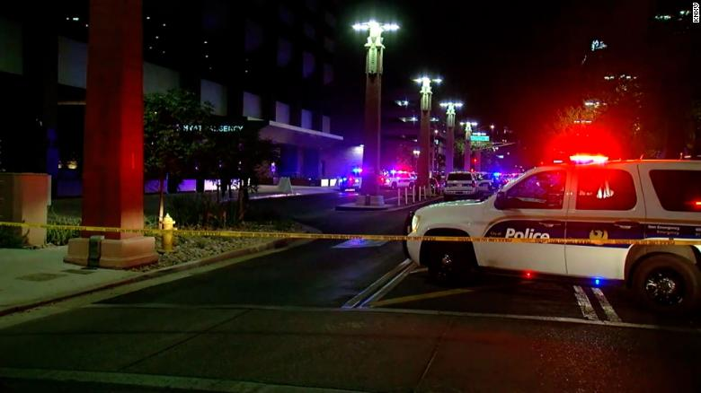 Shooting at downtown Phoenix hotel leaves one dead, several others injured
