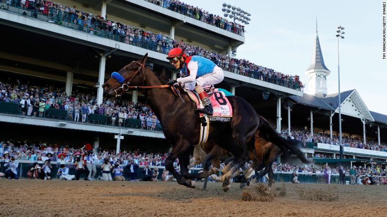 Kentucky Derby winner Medina Spirit's failed drug test confirmed
