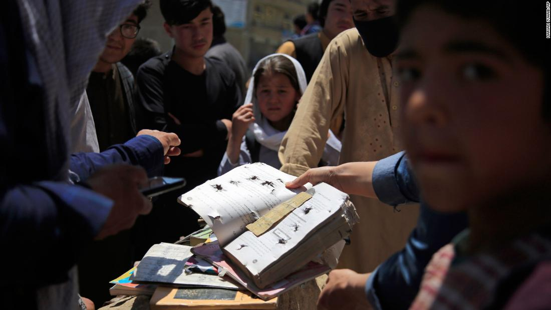 Death toll rises to 68 in Afghanistan girls' school bomb attack